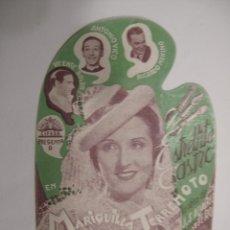 Flyers Publicitaires de films Anciens: T243 ------ PROGRAMA DE MANO ORIGINAL EL DE LA FOTO. Lote 235444650