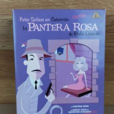 Cine: THE PINK PANTHER FILM COLLECTION PANTERA ROSA COLECCION PELICULAS 6 DVDS PELICULA DVD KREATEN. Lote 235517770