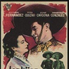 Cine: R-2673- LOS HIJOS DE RANCHO GRANDE (RENÉ CARDONA - RAFAEL ESTRADA - ESTHER FERNÁNDEZ). Lote 235980165