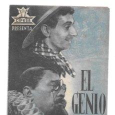 Cine: EL GENIO ALEGRE SP DOBLE. Lote 235986515
