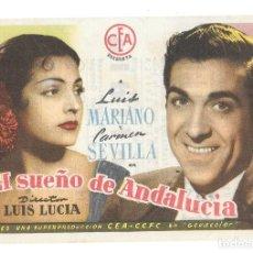 Cine: EL SUEÑO DE ANDALUCIA CP. Lote 235989850