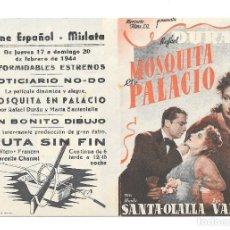 Cine: MOSQUITA DE PALACIO DOBLE CP. Lote 236011240
