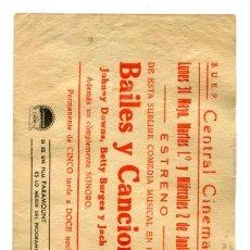 Cine: BAILES Y CANCIONES, CON JACK HALEY.. Lote 236057020