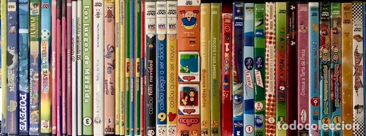 Cine: LOTE PACK 62 DVD PELICULAS INFANTILES VARIADAS - CAPERUCITA, PINOCHO, ROBIN HOOD, POCAHONTAS, CRUSOE - Foto 2 - 178687798