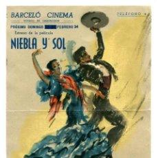 Cine: NIEBLA Y SOL, CON ANTONIO.. Lote 236157590