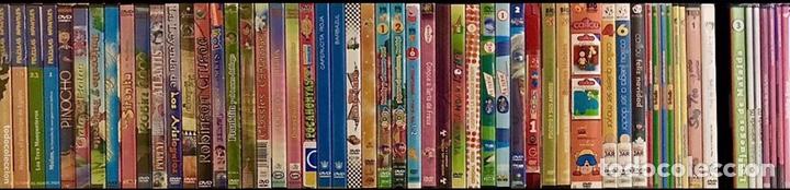 Cine: LOTE PACK 62 DVD PELICULAS INFANTILES VARIADAS - CAPERUCITA, PINOCHO, ROBIN HOOD, POCAHONTAS, CRUSOE - Foto 3 - 178687798