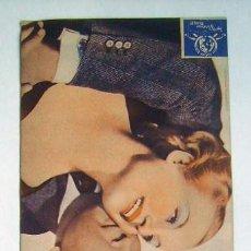 Flyers Publicitaires de films Anciens: LA NOVIA ALEGRE, CON CAROLE LOMBARD.. Lote 236159945