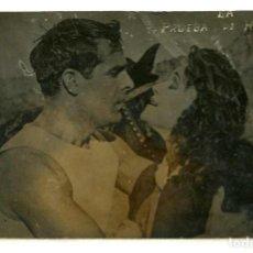 Cine: LA PRUEBA DE HIERRO, 1920 CON ANTONIO MORENO. POSTAL.. Lote 236161285