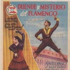 Cine: DUENDE Y MISTERIO DEL FLAMENCO (CON PUBLICIDAD). Lote 236253360