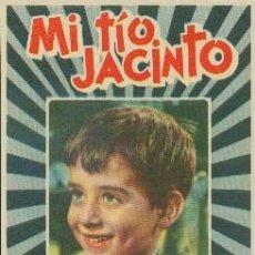 Cine: MI TÍO JACINTO (CON PUBLICIDAD). Lote 236254460