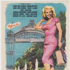 Cine: PARQUE DE MADRID (CON PUBLICIDAD). Lote 236254820