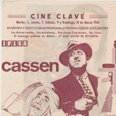 Cine: EL TERRIBLE DE CHICAGO (CON PUBLICIDAD). Lote 236255640