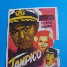 Cine: TAMPICO CON SELLO CINE NACIONAL Y MUNDIAL BARCELONA. Lote 236704360