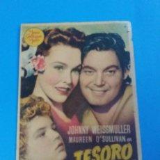 Cine: EL TESORO DE TARZAN. Lote 236770195