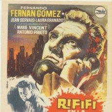 Cine: RIFIFÍ EN LA CIUDAD. SENCILLO DE CEPICSA. ¡IMPECABLE. Lote 237528830