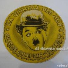 Cine: CHAPLIN CHARLOT. LA QUIMERA DEL ORO. TROQUELADO. S/P. Lote 237530325