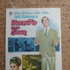 Cine: FOLLETO DE MANO DE LA PELICULA VIENTO DEL SUR. Lote 237761790