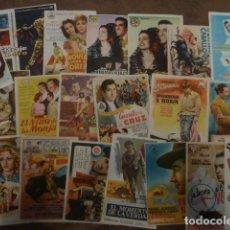 Cine: 20 PROGRAMAS DE CINE DE TOROS. Lote 237979570
