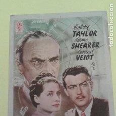 Cine: EVASION ROBERT TAYLOR ORIGINAL S.P.. Lote 237997900