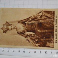 Cine: UN YANKI EN LA CORTE DEL REY ARTURO - FOLLETO MANO 1932 / CARTULINA, PUBLICIDAD CINE MODERNO ¡MIRA!. Lote 238504700