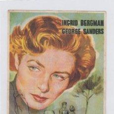 Folhetos de mão de filmes antigos de cinema: TE QUERRÉ SIEMPRE. PROGRAMA DE CINE SENCILLO CON PUBLICIDAD. CINE GADES. CÁDIZ.. Lote 238651915