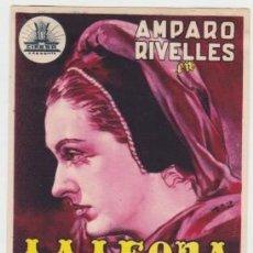 Cine: LA LEONA DE CASTILLA. Lote 238690730