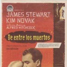 Cine: DE ENTRE LOS MUERTOS (CON PUBLICIDAD). Lote 238876410