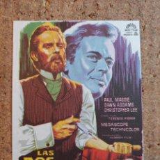 Folhetos de mão de filmes antigos de cinema: FOLLETO DE MANO DE LA PELICULA LAS DOS CARA DEL DR. JEKILL. Lote 239613045