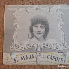 Cine: FOLLETO DE MANO DOBLE DE LA PELICULA LA MAJA DEL CAPOTE. Lote 239846430