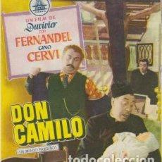 Cine: DON CAMILO. Lote 240735470