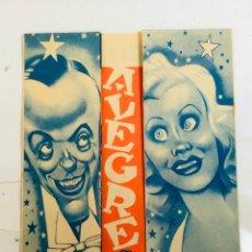 Flyers Publicitaires de films Anciens: LA ALEGRE DIVORCIADA - FRED ASTAIRE GINGER ROGERS, DESPLEGABLE - AÑO 1936. Lote 240825375