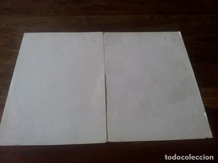 Cine: lote 2 folletos de mano - 500 millas, la batalla del ultimo panzer - sin publicidad - Foto 2 - 241121910