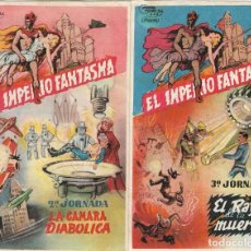 Cine: EL IMPERIO FANTASMA - 2ª Y 3ª JORNADA - GENE AUTRY - CON PUBLICIDAD - 1935.. Lote 241172920