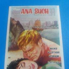 Flyers Publicitaires de films Anciens: ANA SUCH CON PUBLICIDAD FEMINA TARRAGONA. Lote 241748370