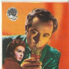 Cine: PN - PROGRAMA DE CINE - CRIMEN SIN CRIMINAL - DENNIS PRICE - CINEMA PALACIO (MONTILLA) - 1950.. Lote 279350883