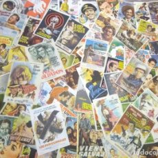 Flyers Publicitaires de films Anciens: LOTE ANTIGUOS PROGRAMAS DE CINE.GRAN MAYORIA MUY BUEN ESTADO.100.FOLLETOS DE MANO DE CINE. Lote 241950540