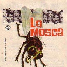 Cine: LA MOSCA (CON PUBLICIDAD). Lote 242001085