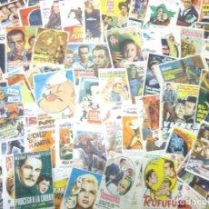 Flyers Publicitaires de films Anciens: LOTE ANTIGUOS PROGRAMAS DE CINE.GRAN MAYORIA MUY BUEN ESTADO.100.FOLLETOS DE MANO DE CINE. Lote 242045015