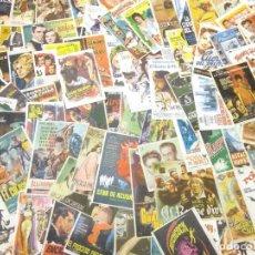 Flyers Publicitaires de films Anciens: LOTE ANTIGUOS PROGRAMAS DE CINE.GRAN MAYORIA MUY BUEN ESTADO.100.FOLLETOS DE MANO DE CINE. Lote 242045410