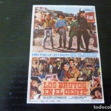 Flyers Publicitaires de films Anciens: PROGRAMA DE CINE IMPRESO EN LA PARTE TRASERA. Lote 242045785