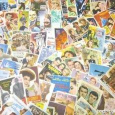 Flyers Publicitaires de films Anciens: LOTE ANTIGUOS PROGRAMAS DE CINE.GRAN MAYORIA MUY BUEN ESTADO.100.FOLLETOS DE MANO DE CINE. Lote 242045860