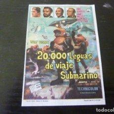 Foglietti di film di film antichi di cinema: PROGRAMA DE CINE. Lote 242054850
