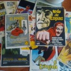 Flyers Publicitaires de films Anciens: LOTE DE 15 PROGRAMAS ORIGINALES DE EPOCA-DIFERENTES-EL PISITO-NIDO DE ESPIAS-...... Lote 242111020