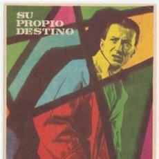 Cine: SU PROPIO DESTINO (CON PUBLICIDAD). Lote 242202385