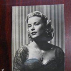 Folhetos de mão de filmes antigos de cinema: GRACE KELLY - POSTAL ORIGINAL B/N - AMERICAN FILM ACTRESS. Lote 242493690