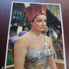 Cine: ELIZABETH LIZ TAYOR - POSTAL ORIGINAL COLOR - CLEOPATRA. Lote 242830210