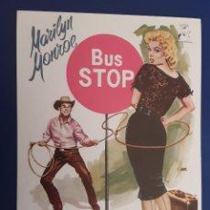 Flyers Publicitaires de films Anciens: BUS STOP, MARILYN MONROE, DON MURRAY, DIBUJO DE JANO. Lote 243632145
