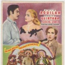 Cine: UNA CANCIÓN A LA VIRGEN. Lote 243668075