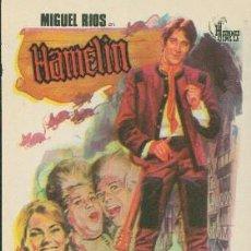 Flyers Publicitaires de films Anciens: HAMELIN. Lote 243668305
