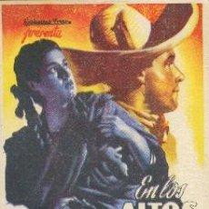 Cine: EN LOS ALTOS DE JALISCO. Lote 243668485